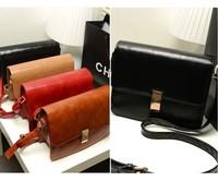 5 colors designers brand 2014 women leather messengers bags lady shoulder vintage bag desigual Retail and Wholesale