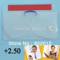 +250 Power reader Pocket reading glasses Emergency  glasses Wallet reading glasses mini reading glasses cheap reading glasses
