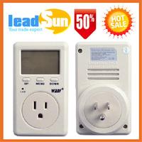 US Plug Power Energy Watt Volt Amp Meter Analyzer with Power Factor