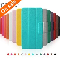 Hard Case PU Folio Leather Stand Magnetic Cover For Google Nexus 7 1st Gen