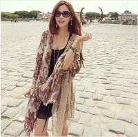 2013 New Fashion Style Designer Scarfs Wraps  Bohemian Scarves For Women Chiffon  Scarf  And Shawl  Free Shipping
