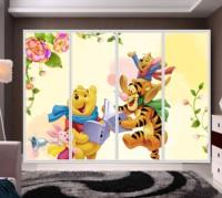 Carton house glass windown films/wardrobe stickers/sliding door stickers/window stickers/switch stickers a070