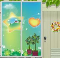 Customized, Multicolour wardrobe sliding door stickers glass stickers window films, free shipping