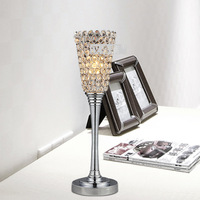 Brief fashion k9 crystal decoration table lamp art lamp ofhead frtl t20