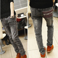 Freeshipping Spring men's clothing jeans male slim denim trousers male skinny pants trousers