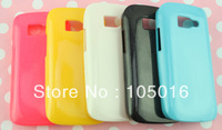 Free shipping 20pcs for Philips W632 mobile phone shining TPU GEL  Skin Case cover