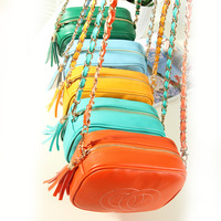 Free shipping Bags vintage 2013 women's candy color the chain  small shoulder handbag cross-body bag