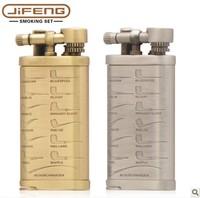 Jifeng copper handmade smoking pipe lighter belt stick jf003-b