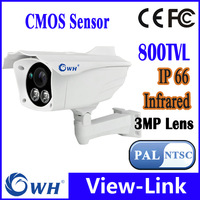 VIEW-LINK 2pcs ir leds security camera outdoor CMOS 800TVL CCTV Camera