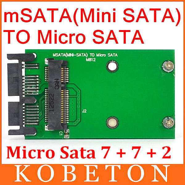 Free Shipping msata to MSata PCI-E Express SSD 1.8 to 2.5 Micro SATA HDD Converter Mini sata to MSata PCI E to Sata Adapter(China (Mainland))