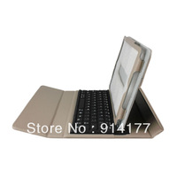 Apricot Color Leather Case + Wireless Bluetooth Keyboard for Mini iPad 7.9 inch Free Shipping