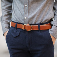 Free shipping Male casual all-match strap belt the casualness adjust measurement male strap