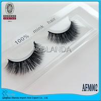 FREE SHIPPING!!! 2013 New style 100% Real Mink Strip Lashes/False Eyelashes(Mink eyelash)
