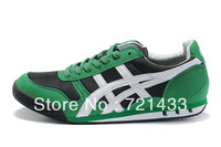 Green Durable And Lightweight Men Sports Shoes Wholesale Brand Japanese Running Shoes