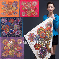 Silk Twill Mulberry scarf, kerchief 90*90 scarf suitable for 4seasons, accessories for fashion elegent women