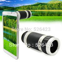 8X Zoom Camera Lens Telescope Telephoto + Case for Galaxy Note3 III N9000 N9005