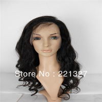 NEW Long Off Black #1B Full LACE Wig Wigs with Full Wavy Texture & Layers,Color #1B,Medium cap fit all,Fast shipping!
