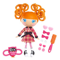 Free Shipping Lalaloopsy Doll Kids Gift Silly Hair Bea Spells-a-lot  Child Toy Button Doll Original Brand