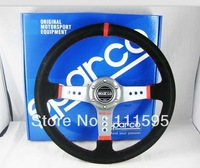 14inch Sparco Suedue Racing Steering Wheel