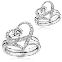 Gigi popular finger ring lovers ring 3073