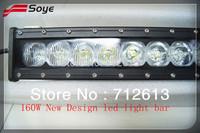 20 inch 160W led light bar Cree led off road light bar for 4WD UTV ATV Jeep with  Flood / Spot / Combo beam
