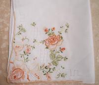 Handkerchief handkerchief towboats exquisite handmade handkerchief 100% cotton