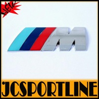 Promotional & Free Shipping  M Stickers ,Auto Car 3D Emblems Badge sticker For BMW