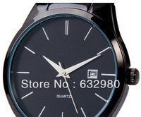 Luxury Watches For Men Date Men's Full Steel Watch Wrist Steel Watch Man Men's Watches Three  Pointer  Free Shipping