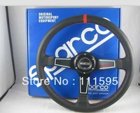 14inch Sparco Leather Racing Steering Wheel-SPC6