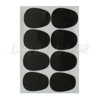 8 Alto/Tenor Saxophone Mouthpiece patches pads black