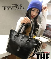 Free/drop shipping  2013 Winter Branded  Designer women handbag PU leather women Totes