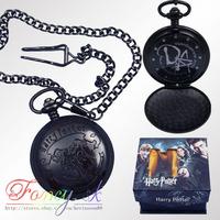 Free shipping Harry Potter DA Logo Pocket Watch New In Box toy