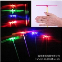 Flash bamboo dragonfly flying fairies Hot luminous flash toys