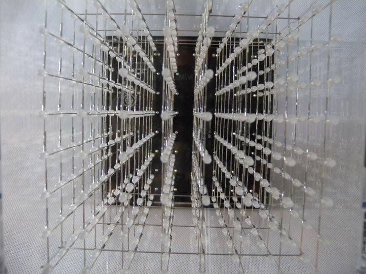дисплей 3d led cube , 3D 8