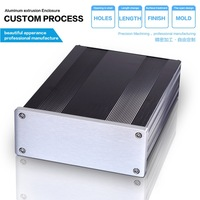 145-54-200 mm (W-H-L)  diy amplifier chassis  box aluminum electronic aluminum enclosures
