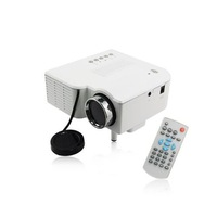 NEW LED small Projector HD Multimedia Player Home Theater UC28+ AV SD VGA HDMI F PC TV DVD white colour