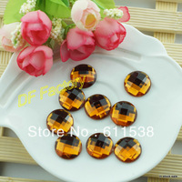 1.8cmflat back acrylic plastic buttons for coat and clothing ribbon bow decoration button mini order $15(200 pcs/lot