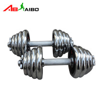 Dumbbell 30kg plating dumbbell black mercerizing rod dumbbell