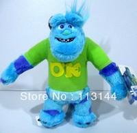 Free shipping 1pcs 20cm Sullivan monster plush dolls,Monsters University Monsters Inc Sulley stuffed toys