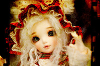 Free shipping fairyland littlefee chloe doll bjd / sd volks soom luts doll fl (include makeup and eyes)