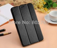 Hot Lovely PU Leather +soft TPU Book Case for Samsung Galaxy Tab 3 7.0 T210 T211 T2100 T2110 P3200,30pcs/lot
