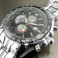 2014 Curren fashion calendar stainless steel Military  Men watches top brand luxury watch men quartz Wristwatches  freeshipping