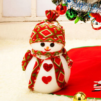 Christmas decorations, Christmas gifts, window decoration,30 cm Christmas snowman doll