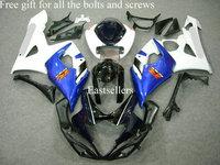 Complete fairing kit for GSXR1000 K5 05 06 2005 2006 GSXR 1000 K5 2005 2006 GSX-R1000 K5 05 06 2005 2006 Blue White Black Red