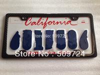 USA Model carbon fiber Car License Frames