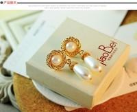 Korean fashion style pendant earrings cute earrings drop of water in Europe and America C168