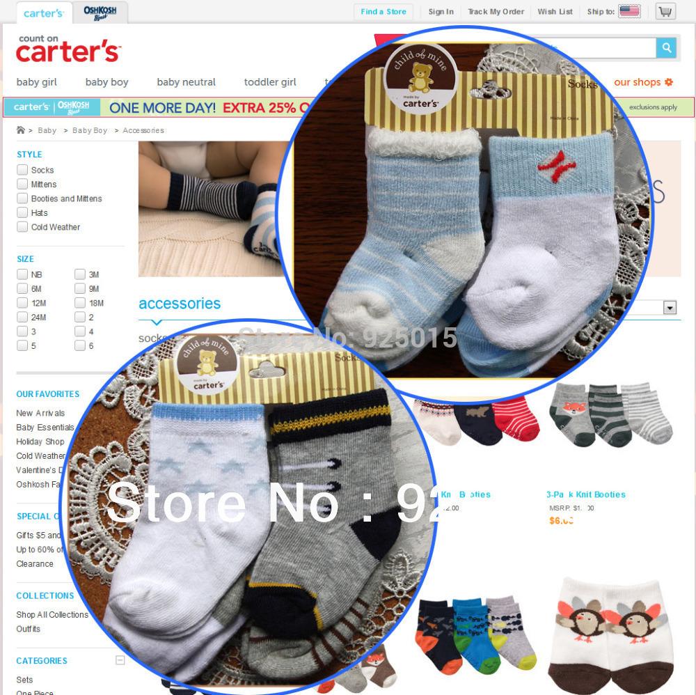 Носки для мальчиков Carter's & , 4 , nb 12 ,