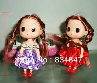 12cm Handmade golden hair Dolls,A good gift for  friends