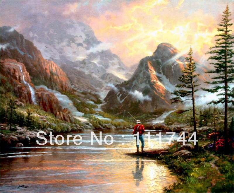 Kinkade Paintings Canvas Kinkade Painting Free