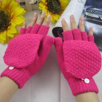 2013 New Fashion Winter Women Hand Wrist Warmer Knitted Fingerless Gloves